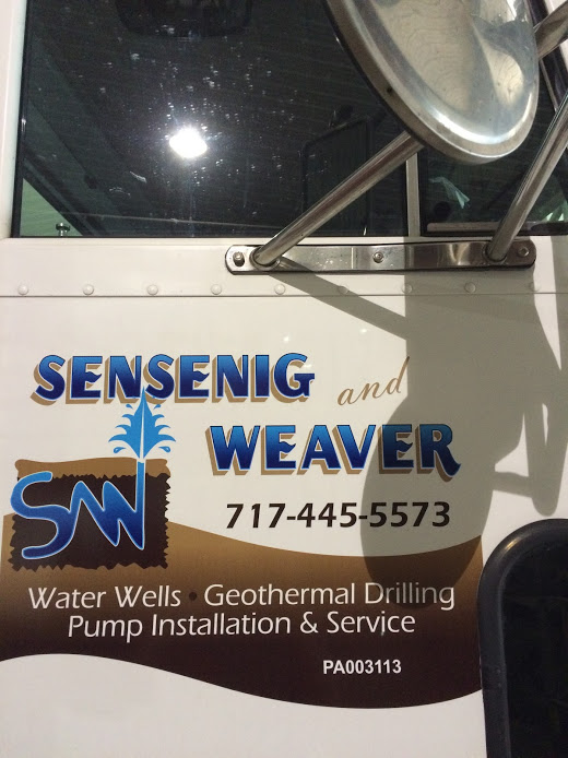 Sensenig and Weaver truck